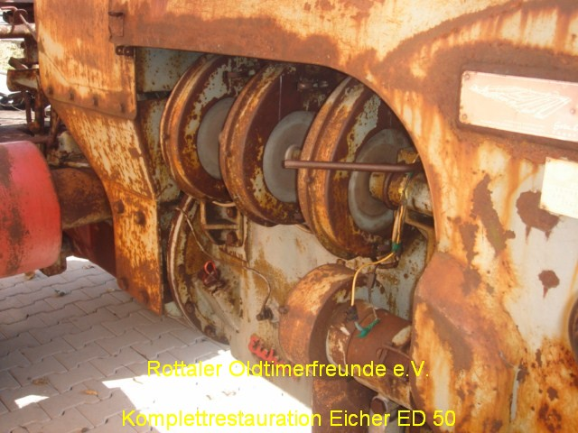 Eicher ED50 Restauration